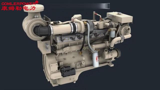 自来水公司应急电源  柴油发电机组 柴油机工作原理