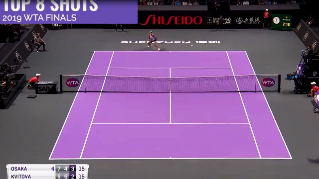 2019资生堂·深圳WTA年终总决赛八大精彩击球回顾