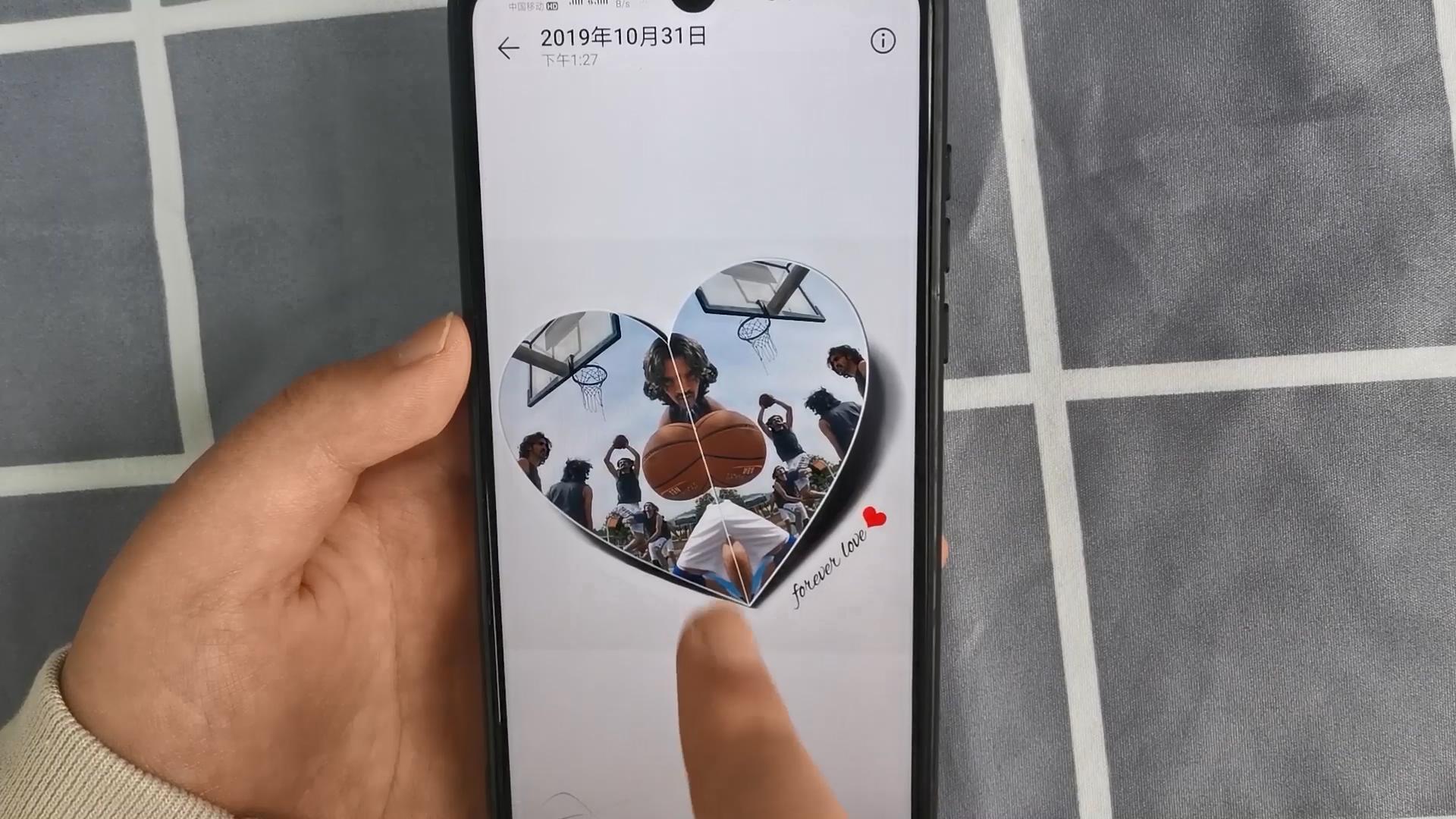 微信头像新玩法来了,教你制作心形3D头像,非常酷炫