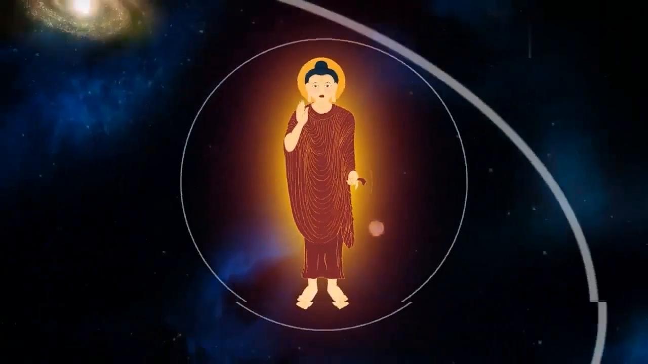 一个佛陀的经典演示动画,无处不在图片