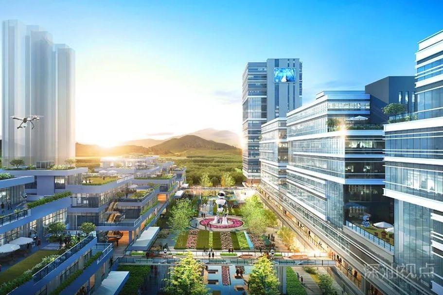 """深汕合作区鲘门新城打造""""公园里的机器人小镇"""""""