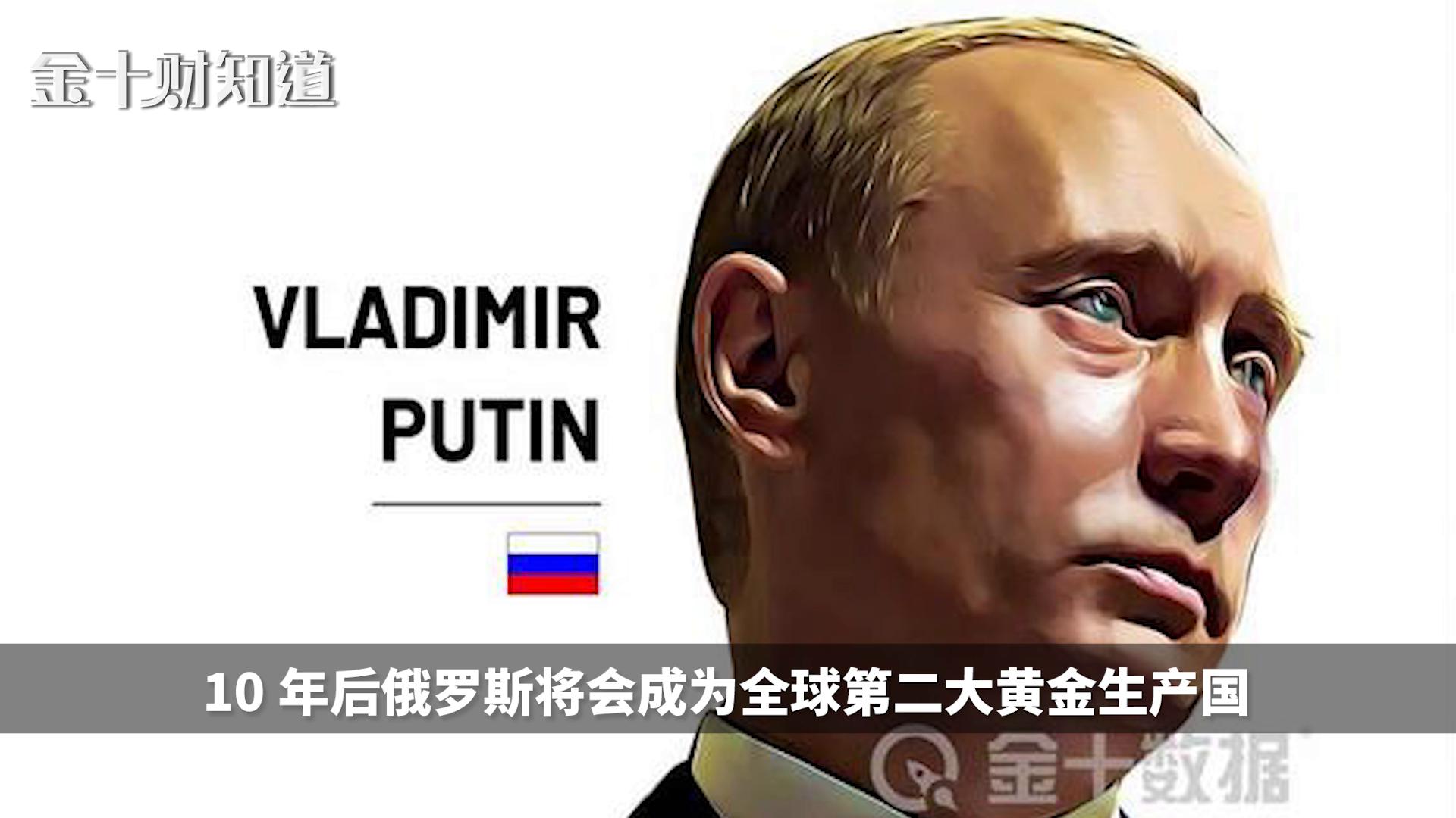 暴涨986%,俄罗斯向全球疯狂出口黄金!13国是主要市场