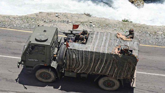 放弃幻想吧!印军准备在拉达克过冬 动用六