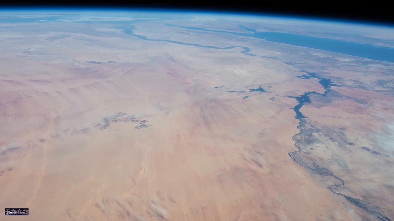 国际空间站的实时地球轨道:从太空看叙利亚