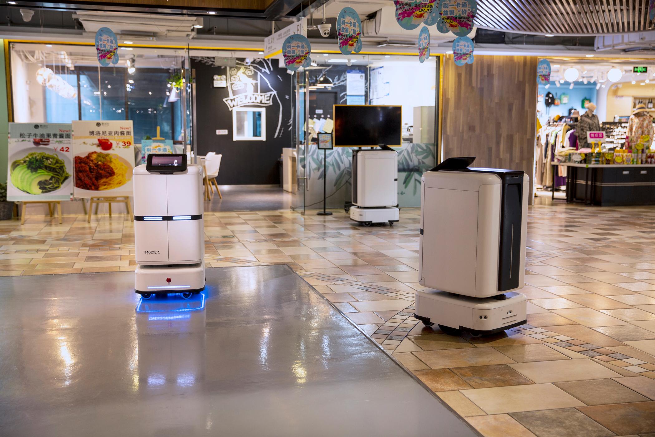 2020人工智能峰会正式召开!九号机器人聚力AI,助力跨产业发展
