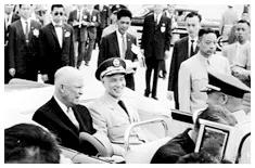 蒋介石与艾森豪威尔