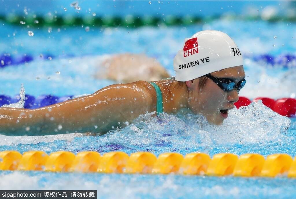 女子200米混合泳-叶诗文晋级半决赛图片