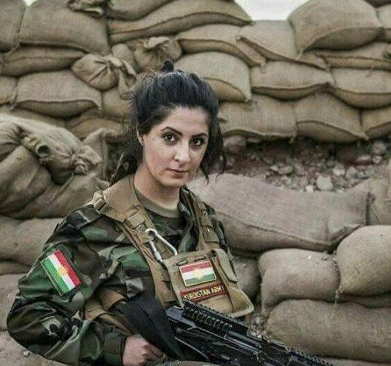 战士狂花:那些打看的库尔德沙漠美女爱现役田南模特美女图片