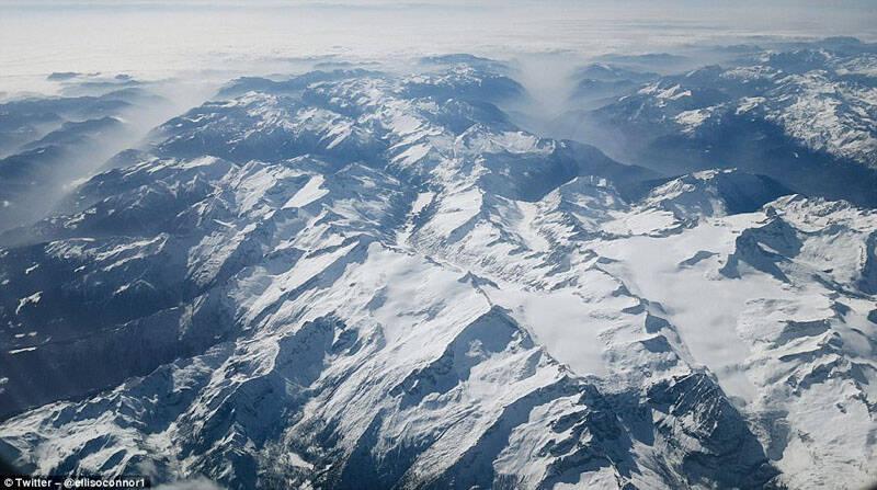 美不胜收!航空乘客高空拍地面美照