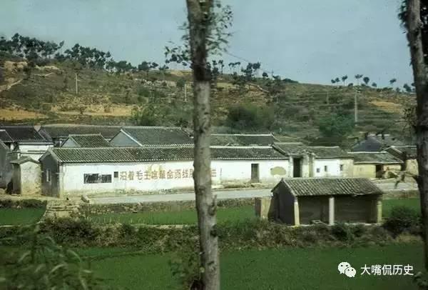 实拍70年代中国农村老照片 当年深圳还是这个样子的