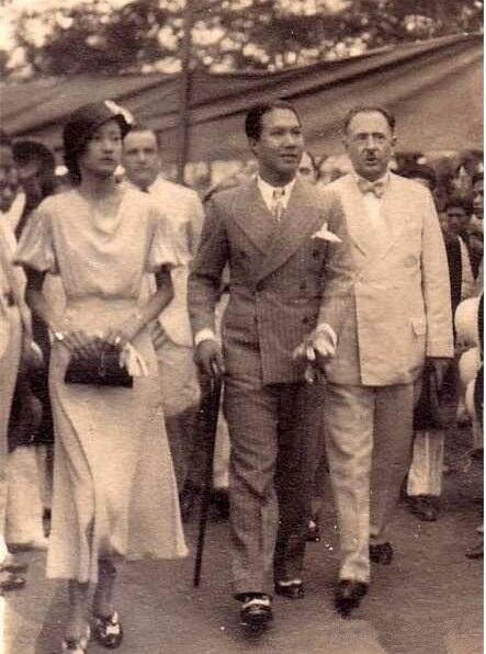 南芳皇后本名阮友兰,安南国王,越南皇帝保大阮福晪的正妻,是越南的
