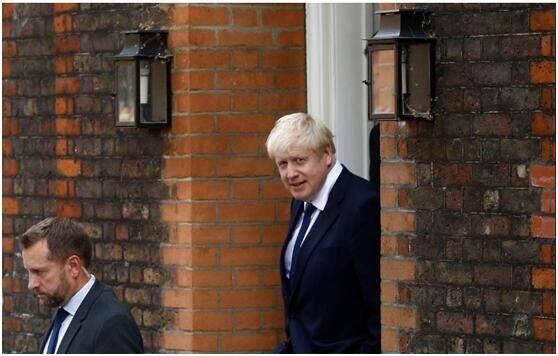 英国前外交大臣鲍里斯·约翰逊当选保守党党首 将接任英国首相