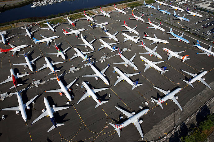 737MAX停飞波及美国经济:航空公司和供应商都蒙上阴影