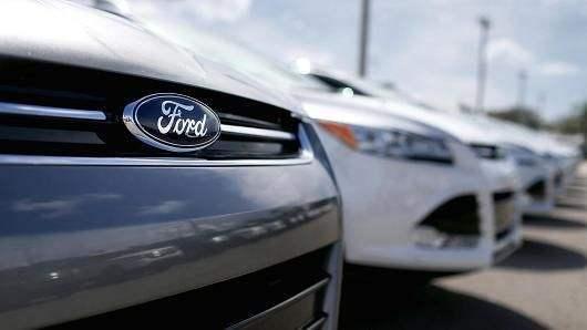 福特宣布在北美和欧洲召回57万辆汽车