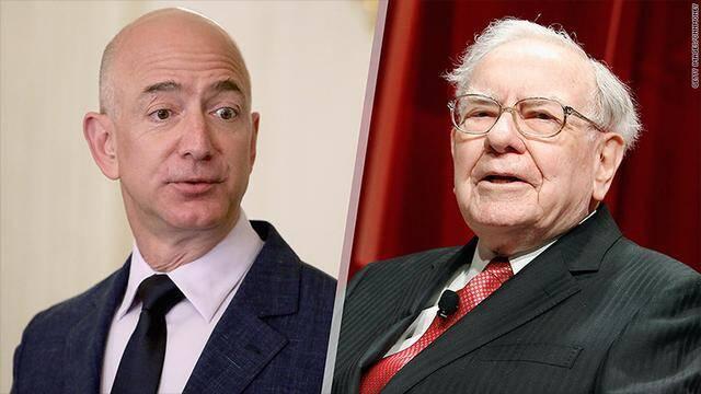 亚马逊股价新高:CEO贝索斯财富超巴菲特成全球第二