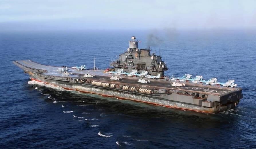 俄媒量化点评中美俄航母:辽宁舰不如库兹涅佐夫