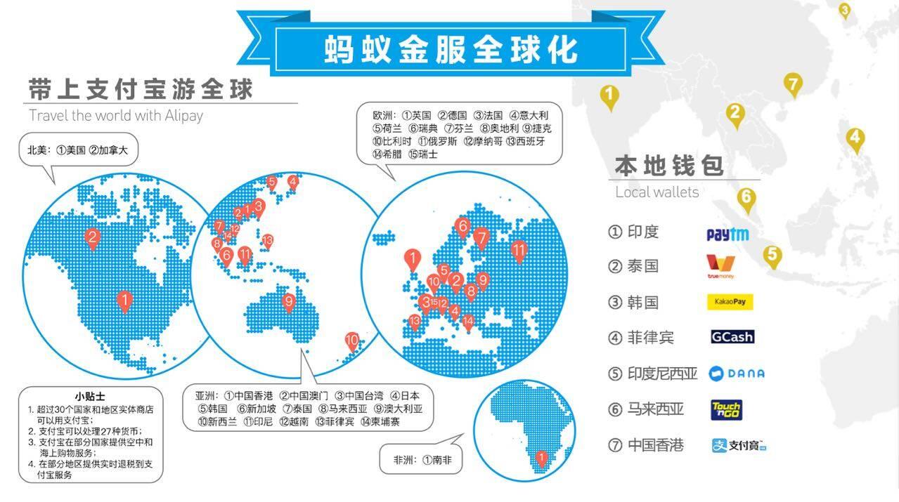 蚂蚁金服与长江和记成立合资公司在香港提供电子金融服务