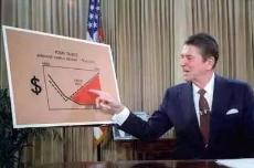 """里根减税,造就美国""""20世纪最持久的繁荣阶段"""""""