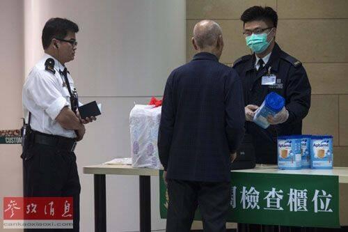 """英媒:香港法官称不敢吃国产奶粉是""""国耻"""""""