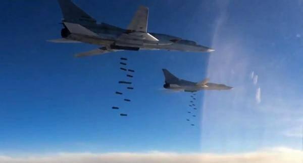 俄大举轰炸 称已全歼坠机区恐怖分子和神秘团伙