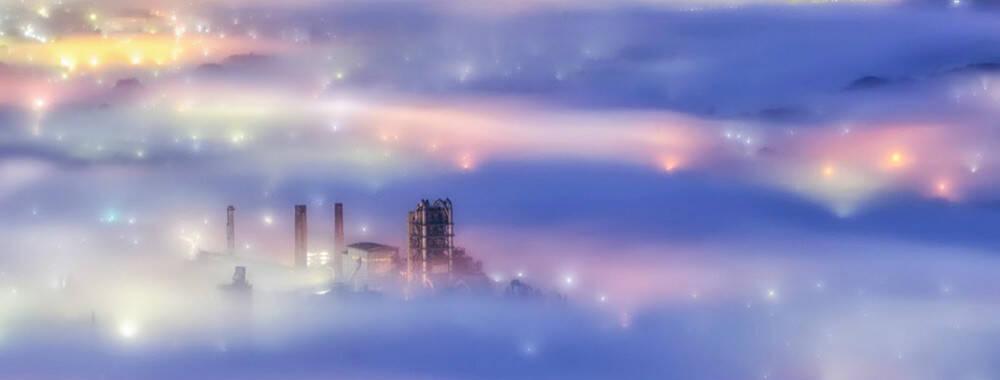 掉落九重天的人间仙境 赏遍世界各地美丽雾景