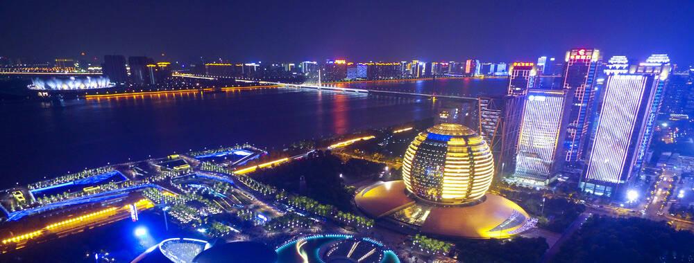 """最是醉人""""夜杭州""""  G20城市夜景惊艳全世界"""