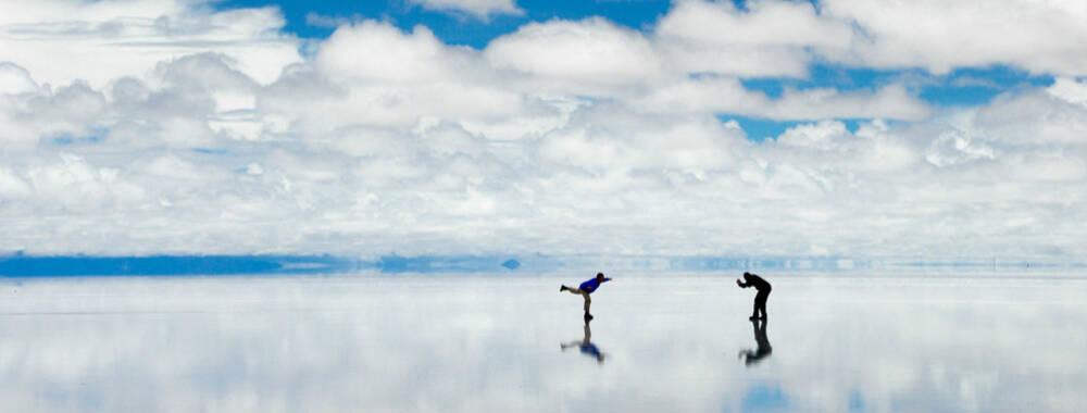 玻利维亚乌尤尼盐沼 :那块美到让人无法呼吸的天空之境