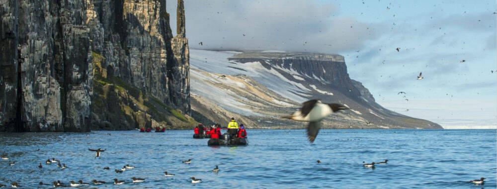 探秘北极圈:斯瓦尔巴群岛 人类文明的北方边界   全球GO