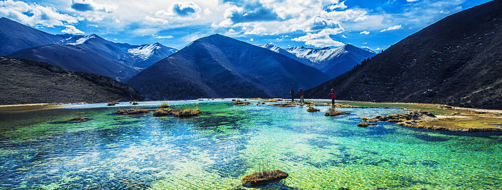 """""""童话世界""""九寨沟坚强面对自然挑战 旅游界在行动……"""