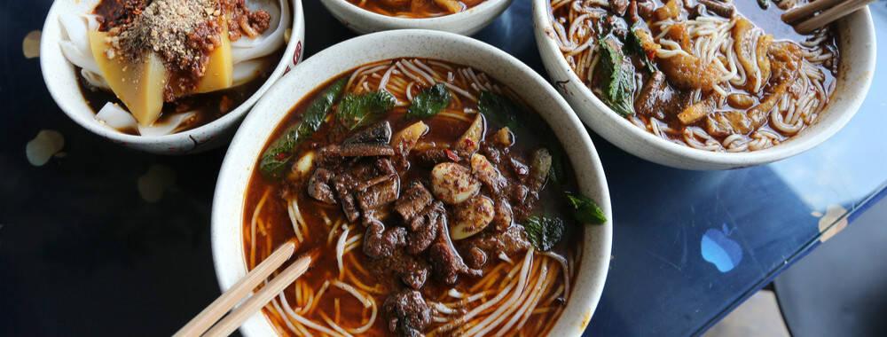 在云南春城昆明 甩碗米线即早点   钱柜娱乐老虎机