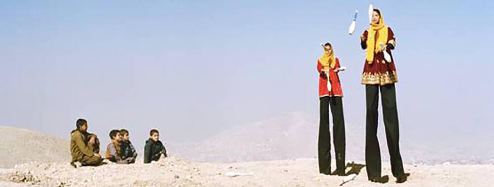 在阿富汗的乡村马戏团里 人们走进一个自由的天堂 | 大师IN像