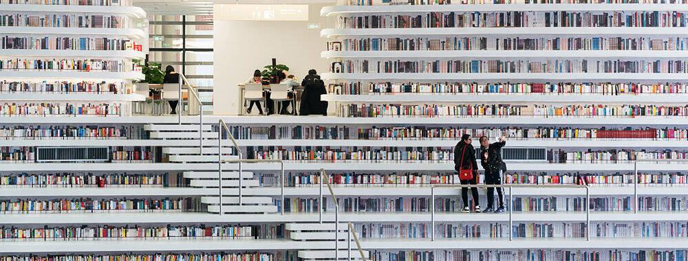 日本人看过这座图书馆也不淡定了!天津竟如此文艺