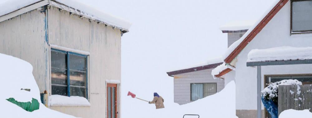 中国姑娘乘季节列车穿越北海道 拍下日本雪国震前的梦幻与顽强 | 大师 IN 像