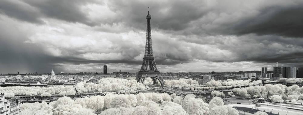 你一定沒見過!紅外線當濾鏡 攝影師捕捉法國別樣浪漫