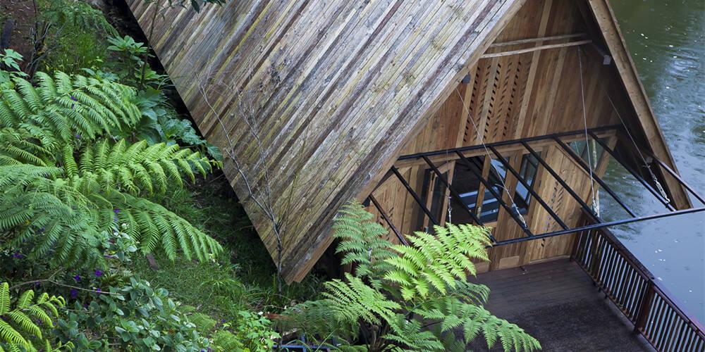 餐厅小木屋