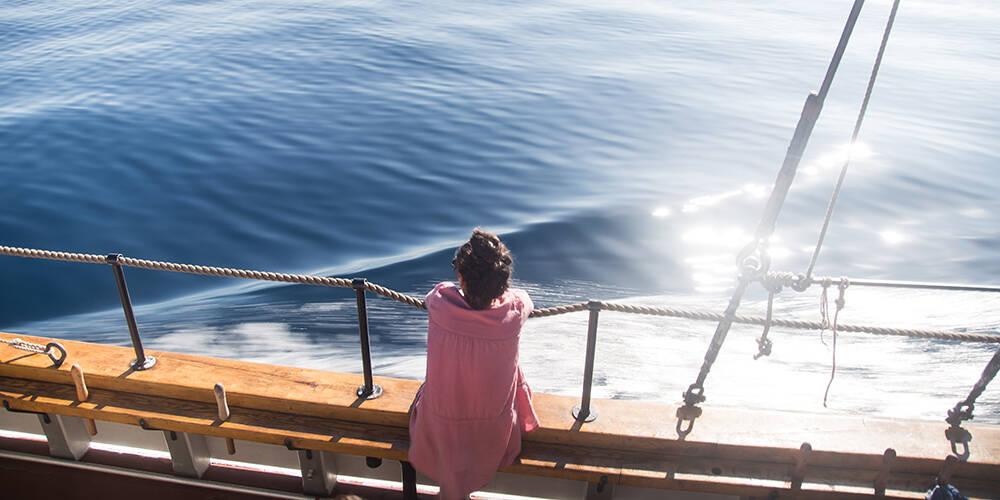 三年间在海上漂流数月 乘船环欧洲之旅