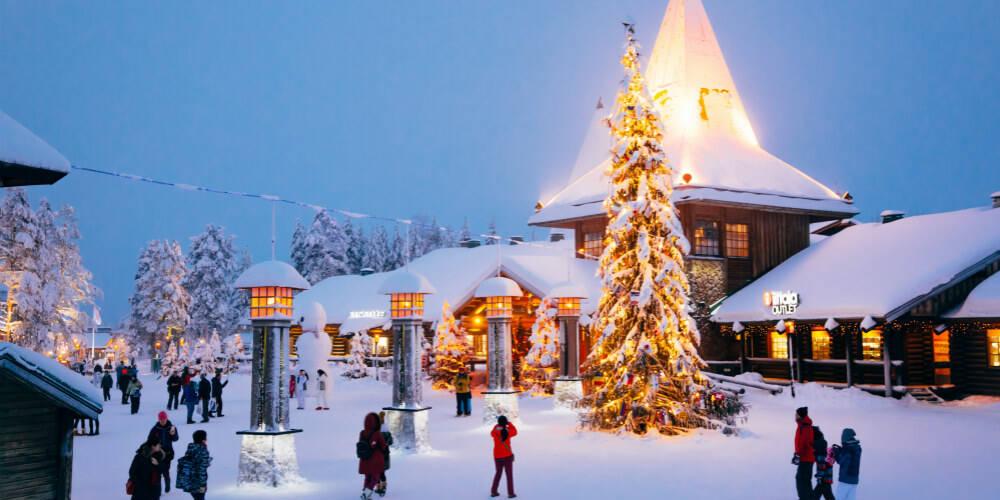 探秘圣诞老人村