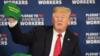 """果然很不一般!特朗普最近特别喜欢戴这顶""""绿帽子"""""""
