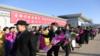 张国立、佟丽娅、张杰等中国文艺工作者访问朝鲜