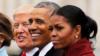 米歇尔出书称不原谅特朗普 特朗普:我也不原谅奥巴马