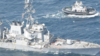 我舰奉命撞击你舰!中国驱逐舰41米撵走进犯美舰:管撞不管捞