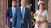 """夏洛特公主在弟弟受洗仪式上""""警告""""媒体:不许过来"""