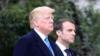 特朗普再怼马克龙:美国来之前,法国人正学德语呢