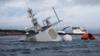 挪威宙斯盾舰挣扎6天后沉没 原因竟是忘关门?