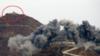 现场曝光!韩军用TNT炸哨所 朝鲜军人远处观看