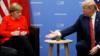 G20峰会:特朗普与默克尔会面全程尬聊