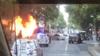 墨尔本市中心传出多次爆炸声 汽车起火人群逃离