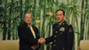 """中国防长会见美国""""飞虎队""""老兵:永不忘老战友老朋友"""