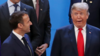 G20峰会上的特朗普表情