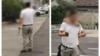 男子持杀猪刀闯入交警队叫嚣 结果被民警一招锁喉